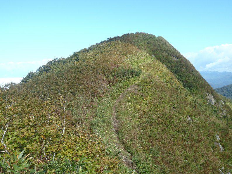 山頂へのやせ尾根.jpg