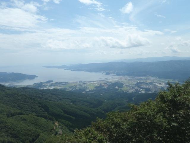 氷上山から広田湾.JPG