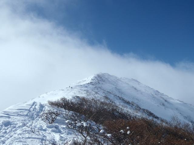 山頂・ここから滑りだす.JPG
