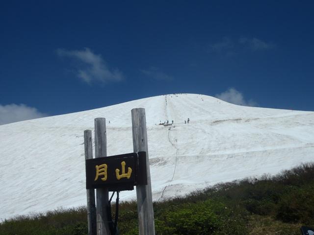 姥ヶ岳のロープ塔.JPG