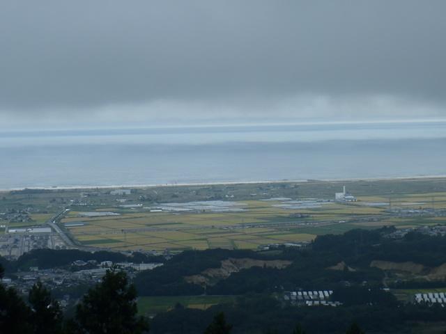 深山山頂から太平洋.JPG