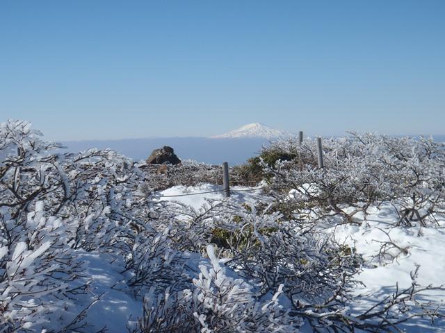 山頂より鳥海山.JPG