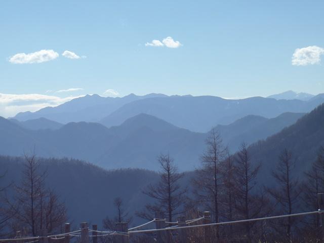 山頂から左笊ヶ岳・右悪沢岳.JPG