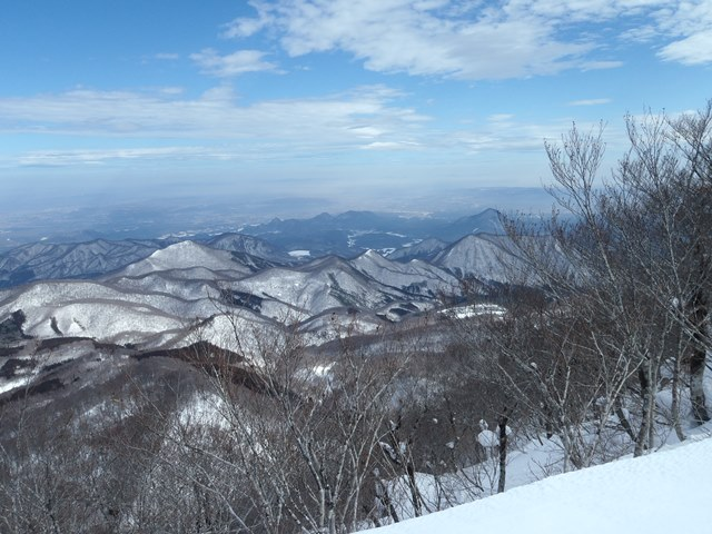 山頂より七つの森方面.JPG