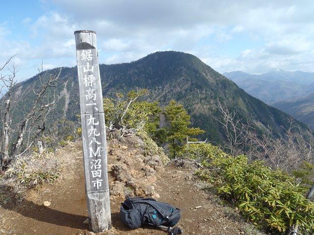 鋸山から皇海山.JPG