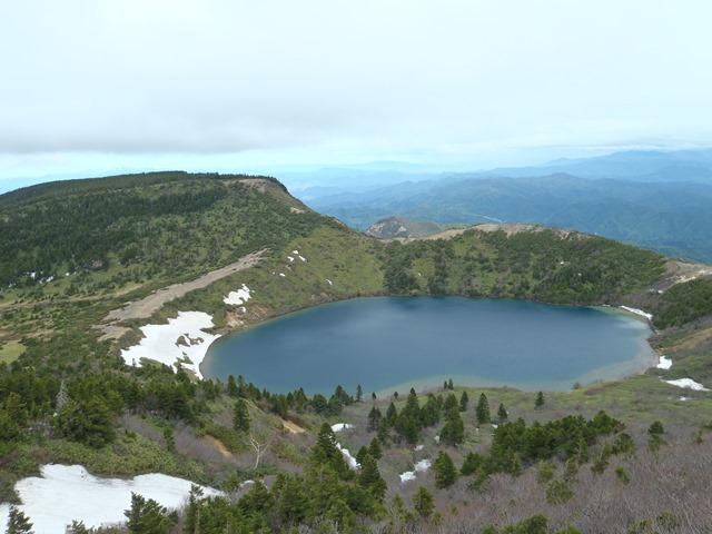 一切経山から五色沼.JPG
