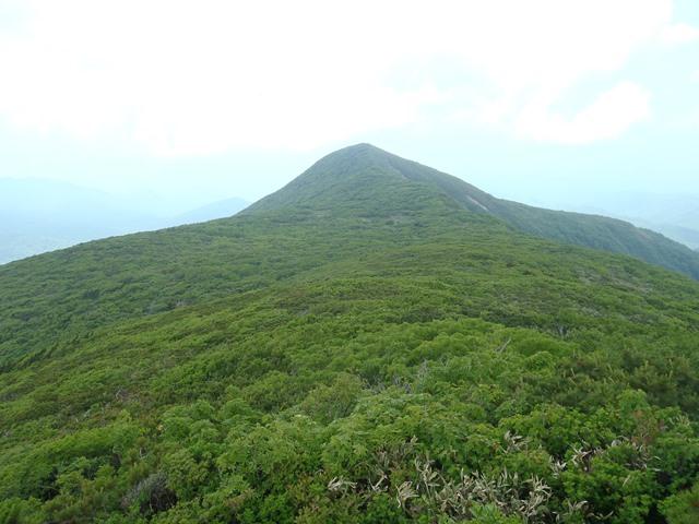 本日のメイン・前船形山.JPG