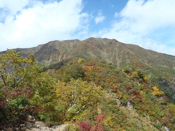 浅草岳を振返る.JPG