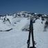 湯殿山山頂から月山.JPG