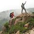岩稜帯を行く.JPG