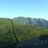 縦走路と以東岳.JPG