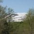 駐車場から月山スキー場.JPG