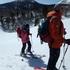 スキー場横をハイクアップ.JPG