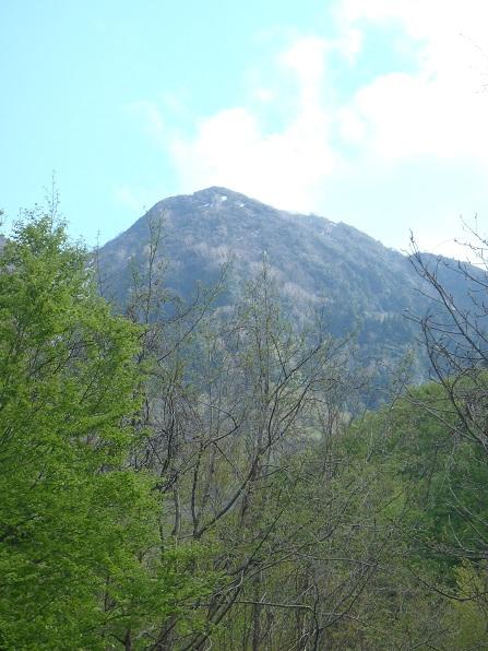 登山口より荒海山と思われる.JPG