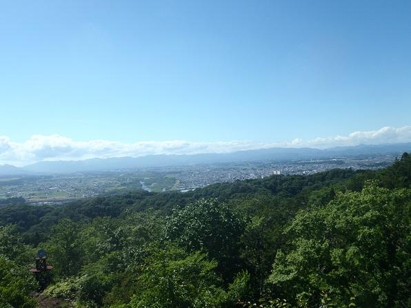 山頂から北上市.JPG