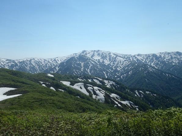 稜線から以東岳.JPG