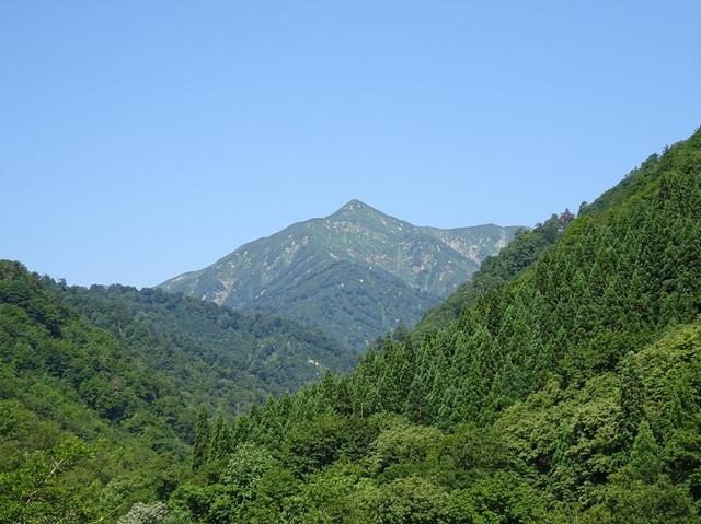 朝日鉱泉から大朝日岳.JPG