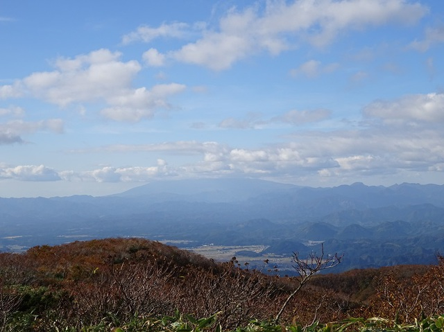 鳥海山は見えず.JPG