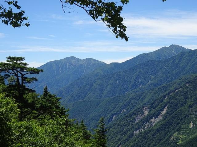 右聖岳・左上河内岳.JPG